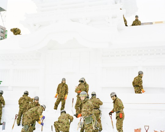 「Camouflage」2008-2015年 / 320×400mm / インクジェット・プリント